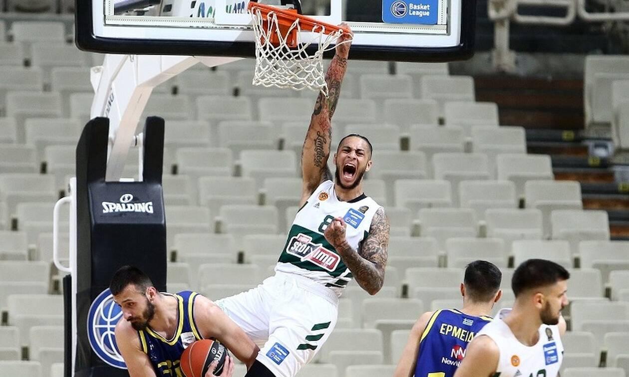Basket League: «Οδοστρωτήρας» ο Παναθηναϊκός, σοκ για την ΑΕΚ - Βαθμολογία και στιγμιότυπα