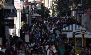 Lockdown: Ξεχύθηκαν στην Ερμού οι Αθηναίοι – «Πλημμύρισε» το κέντρο της Αθήνας