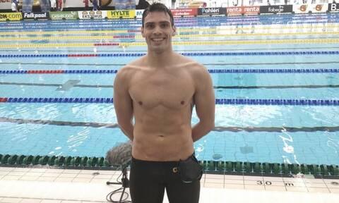 Κολύμβηση: Σπουδαία επίδοση ο Βαζαίος – O τρίτος Έλληνας που τα καταφέρνει