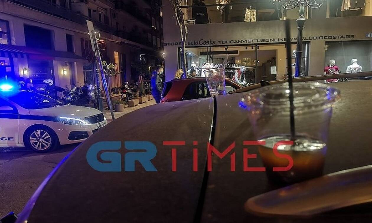Θεσσαλονίκη - Lockdown: Επέμβαση της ΕΛ.ΑΣ. για εικόνες συνωστισμού στο κέντρο της πόλης