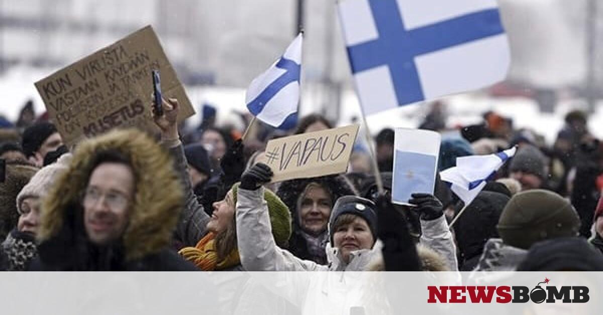 facebookfinland protest