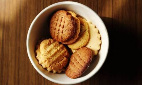 Μπισκότα χωρίς ζάχαρη - Τρεις απλές κι εύκολες συνταγές