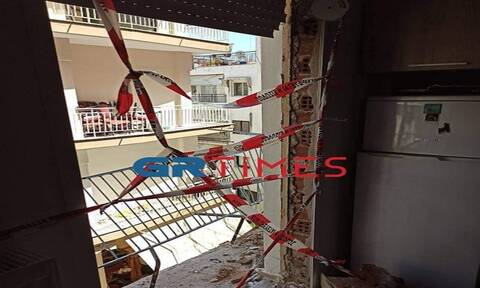 Θεσσαλονίκη: Έκρηξη από γκαζάκι ισοπέδωσε το διαμέρισμα φοιτητή – Τι συνέβη; (pics & vid)