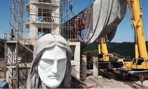 Βραζιλία: Χτίζουν νέο άγαλμα του Χριστού - Θα ξεπερνά σε ύψος το διάσημο μνημείο του Ρίο