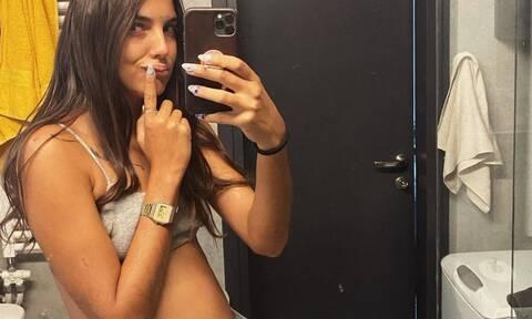 Άννα Μαρία Βέλλη: Έτσι εξηγείται το viral post με φουσκωμένη κοιλιά (photos)