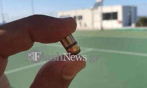 Τρόμος στα Χανιά: Αδέσποτη σφαίρα έπεσε σε γήπεδο τένις την ώρα αγώνα
