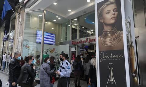 Σταμπουλίδης: Απο Δευτέρα θα ανοίξουν και μεγάλα πολυκαταστήματα - Τι ισχύει με όριο πελατών