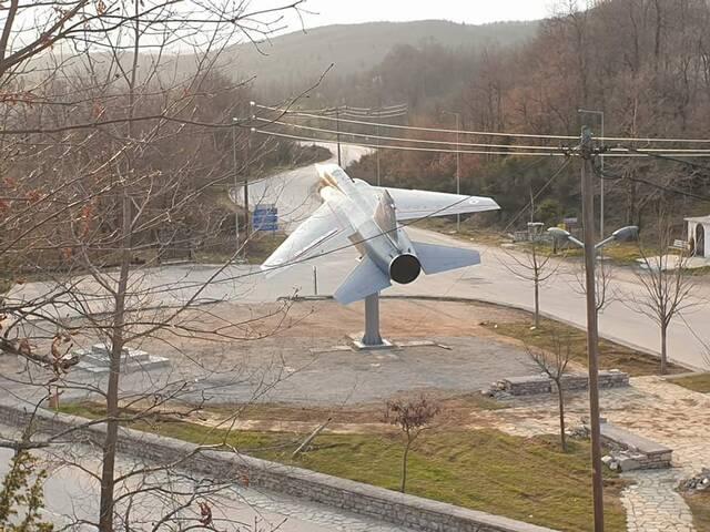 Το Mirage F1 για τον σμηναγό Γιώργο Μπαλταδώρο
