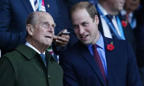 Πρίγκιπας Φίλιππος: Το μήνυμα του πρίγκιπα Ουίλιαμ για τον παππού του