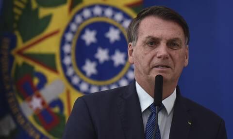 O πρόεδρος της Βραζιλίας, Ζαΐχ Μπολσονάρου