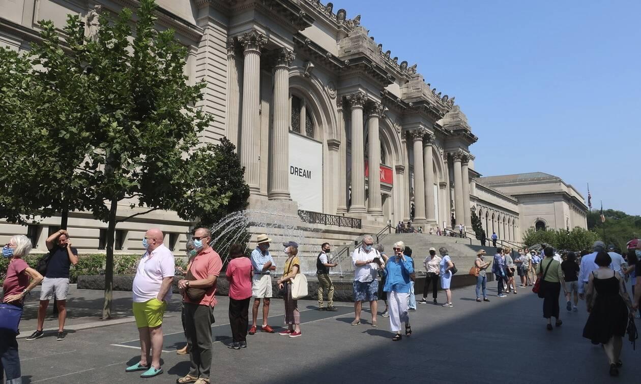 151η επέτειος του Μητροπολιτικού Μουσείου Τέχνης από τη Google