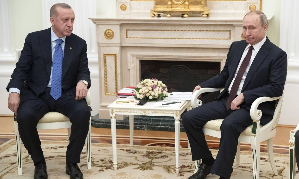 Νέο μήνυμα Πούτιν στον Ερντογάν: Η Ρωσία απαγορεύει τις τουριστικές πτήσεις προς την Τουρκία