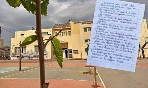 Έκαναν κατάληψη σε λύκειο που άνοιξε χτες - Δείτε τα επτά αιτήματα των μαθητών