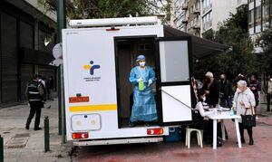 Κρούσματα σήμερα: Ασφυξία στην Αττική με 1.812 μολύνσεις - Σε δύσκολη κατάσταση με 554 η Θεσσαλονίκη