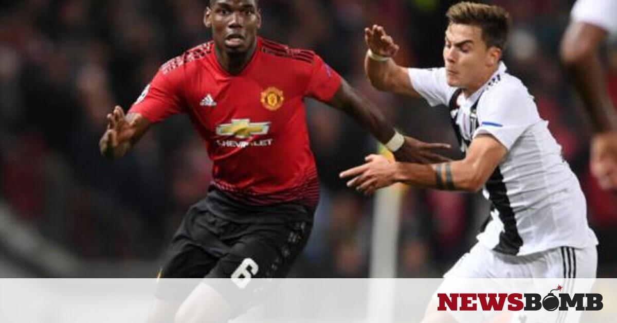 facebookPaul Pogba Paulo Dybala Manchester United Juventus F365