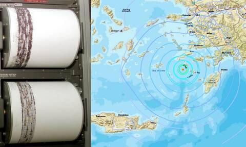 Σεισμός κοντά σε Τήλο και Νίσυρο - Συνεχίζονται οι μετασεισμοί