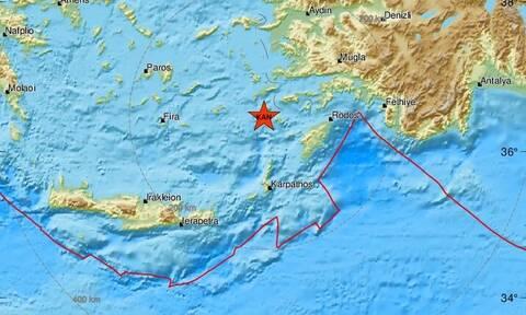 Σεισμός ΤΩΡΑ: Νέα σεισμική δόνηση κοντά σε Τήλο και Νίσυρο