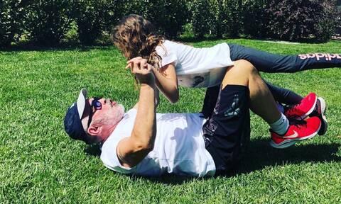 Γιώργος Λύρας: Yπέροχη η νέα φώτο με την Πέγκυ Ζήνα και την κόρη του