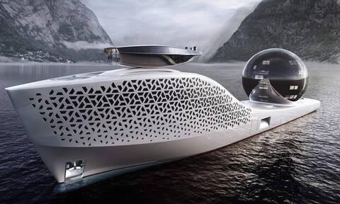 Earth 300: Πυρηνοκίνητο σούπερ γιοτ για πολυτελή ταξίδια και επιστημονικές έρευνες