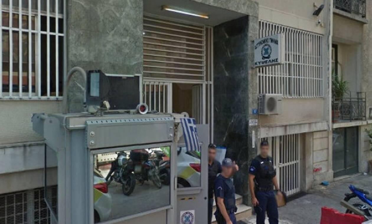 Απόδραση κρατούμενου μέσα από το αστυνομικό τμήμα Κυψέλης