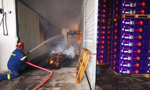 Φωτιά ΤΩΡΑ: Μεγάλη πυρκαγιά σε εργοστάσιο στην Αργολίδα (pics, vid)