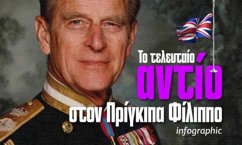 Πρίγκιπας Φίλιππος: Το τελευταίο αντίο! Η ζωή του με μια ματιά -Δείτε το Ιnfographic του Νewsbomb.gr