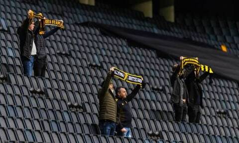 Κορονοϊός: Έπος! Στη Σουηδία επιτρέπουν αυστηρά οκτώ θεατές στα γήπεδα