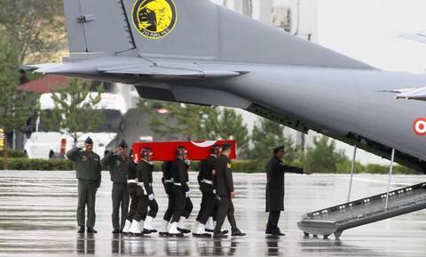 Νεκρός Τούρκος στρατιώτης
