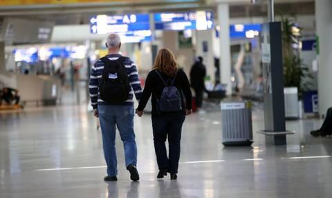 Τουρίστες αεροδρόμιο Ελευθέριος Βενιζέλος