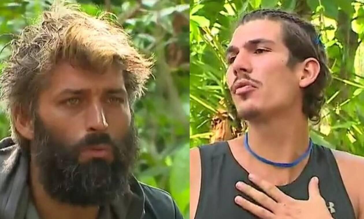 Νέα κόντρα στο Survivor: «Σ' εχει κάνει σαν τα μούτρα του», είπε ο Παππάς στον Γαλακτερό (vid)