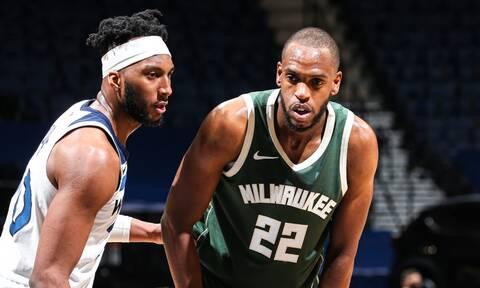 NBA: Άνετο πέρασμα από Μινεσότα και χωρίς Giannis (pics+vid)