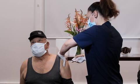 Εμβολιασμός νησί