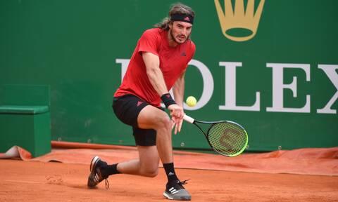 Τένις: Αποφασιστικός Τσιτσιπάς προκρίθηκε στους «8» του Monte Carlo Masters (vids)