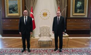 Ολοκληρώθηκε η συνάντηση Δένδια - Ερντογάν στην Άγκυρα
