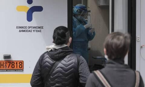 Κορονοϊός - ΕΟΔΥ: Πού θα πραγματοποιηθούν την Παρασκευή (16/4) δωρεάν rapid test