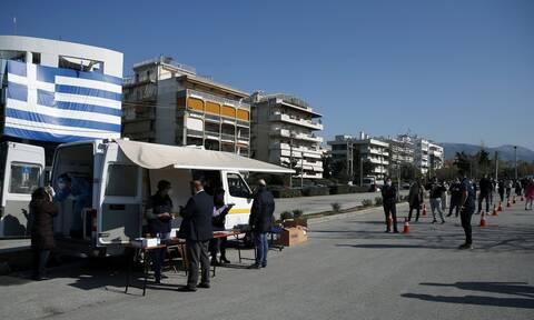 Κορονοϊός: Δωρεάν rapid test σήμερα Παρασκευή 16 Απριλίου σε 122 σημεία σε όλη την Ελλάδα