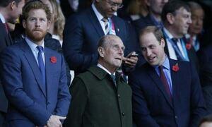 Πρίγκιπας Φίλιππος: Η βασίλισσα Ελισάβετ «χωρίζει» Γουίλιαμ και Χάρι στην κηδεία – Δείτε γράφημα