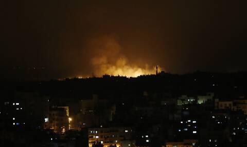 Το Ισραήλ «απάντησε» στη ρουκέτα που εκτόξευσαν οι Παλαιστίνιοι