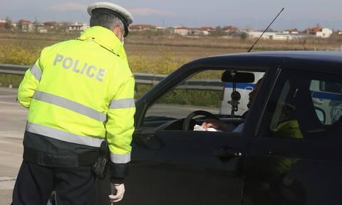 Διόδια έλεγχος αστυνομικός