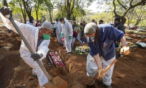 Βραζιλία: Ο εφιάλτης του κορονοϊού- Ασθενείς διασωληνόνται... χωρίς αναισθησία στα νοσοκομεία
