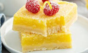 Mπάρες λεμονιού με 5 υλικά χωρίς ζάχαρη και βούτυρο (vid)