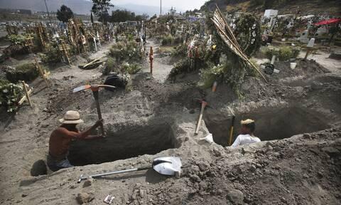 Κορονοϊός - Μεξικό: 480 νέοι θάνατοι και πάνω από 4.500 κρούσματα το προηγούμενο 24ωρο