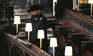 Βασίλισσα Ελισάβετ: Η πιο θλιβερή φωτογραφία της ζωής της - Μόνη αποχαιρέτησε τον πρίγκιπά της