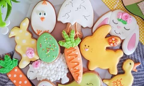 Πώς μπορείτε να διακοσμήσετε τα πασχαλινά μπισκότα (pics)