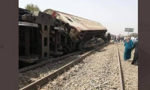Τραγωδία στην Αίγυπτο: Εκτροχιασμός τρένου με νεκρούς και τραυματίες (pics)