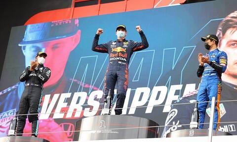 Formula 1: Πρώτη νίκη μέσα στον... χαμό για τον Φερστάπεν - Τα highlights του επεισοδιακού GP (vids)
