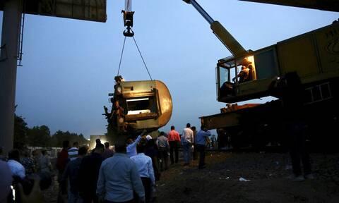 Εκτροχιασμός τρένου Αίγυπτος