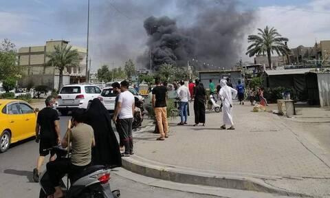 Ρουκέτες στο Ιράκ
