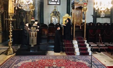 Ο Οικουμενικός Πατριάρχης Βαρθολομαίος