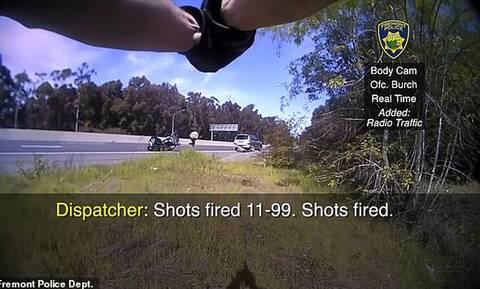 ΗΠΑ: Δραματική καταδίωξη φυγά από αστυνομικό – «Βροχή» οι σφαίρες και νεκρός ο ένοπλος